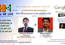Yashwant Mahadik & Gautam Ghosh on Best HR practices in the Social world!