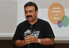 Abhijit Bhaduri at work