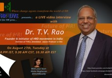 LIVE talk with Dr.T.V. Rao on Future of HR