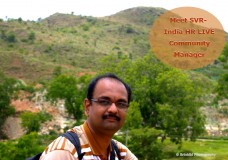 Meet SVR- India HR LIVE Community Manager