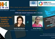 SHRM India Annual Conference 2013-Preview