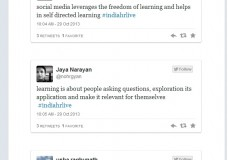 #IndiaHRLIVE storify Oct 29th on Organizational learning