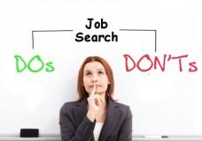 Three mistakes of a Job Hunt!!