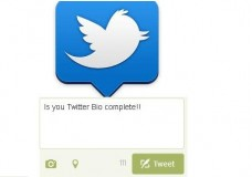 Is your Twitter Bio complete!!