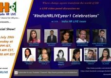 #IndiaHRLIVEYear1 Celebrations