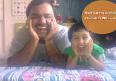 Meet Sarang Brahme – #IndiaHRLIVE Co-host